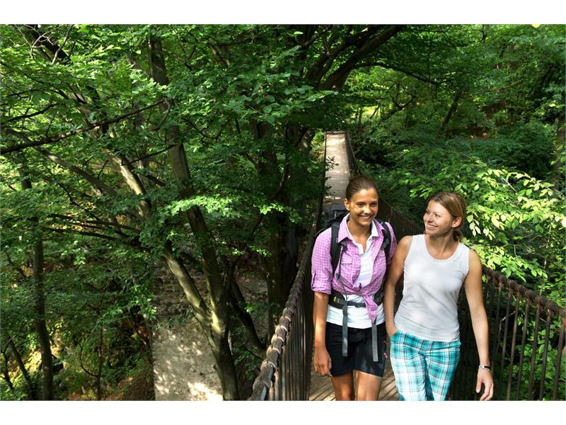 Hiking tour through the canyon Rastenbach
