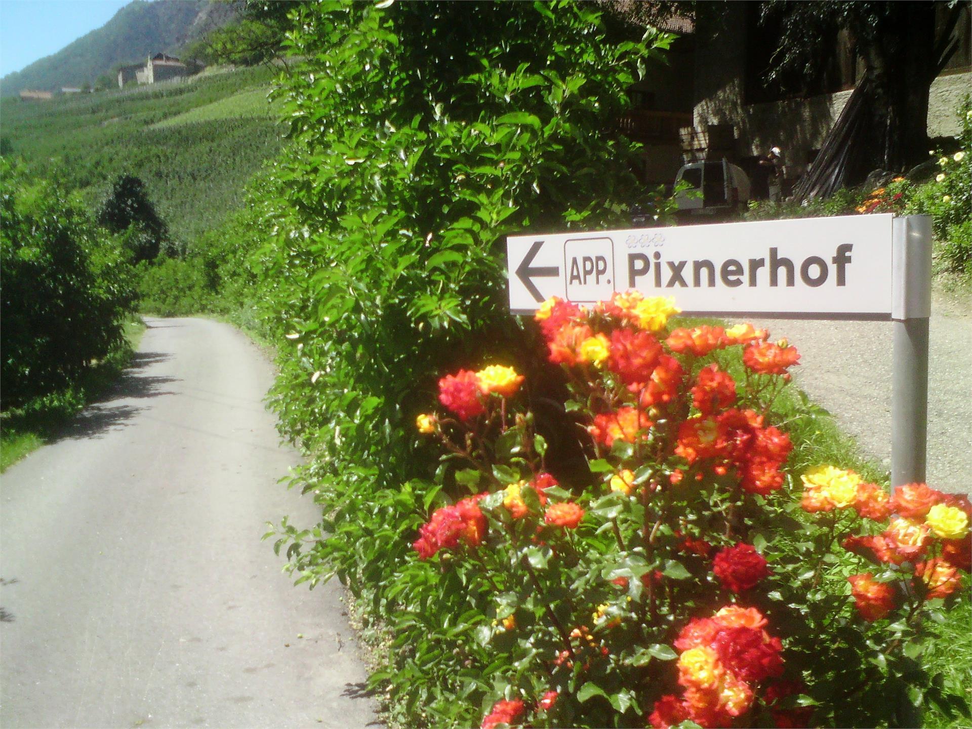 Strada d'accesso al Pixnerhof