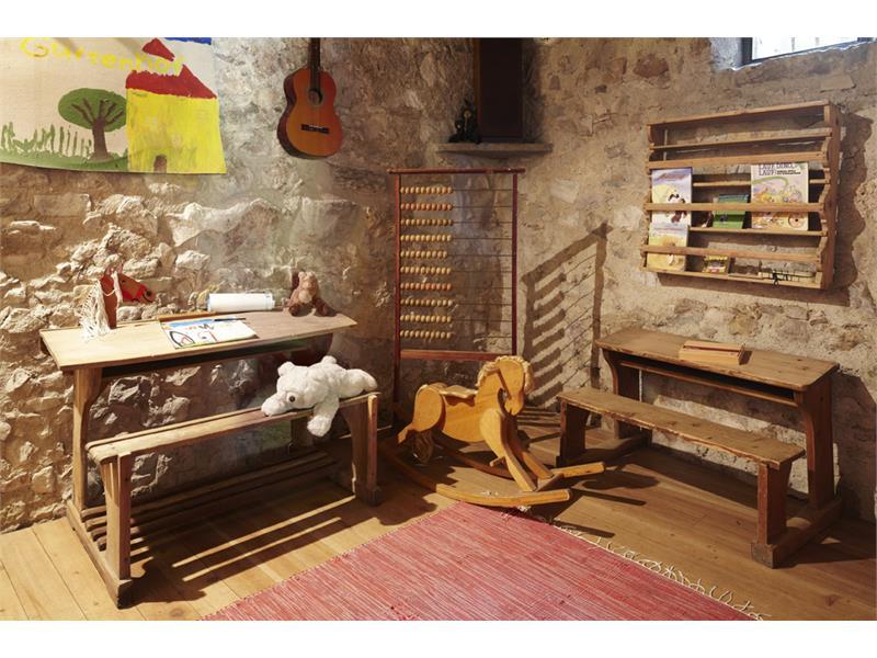 historisches Kinderspielzimmer