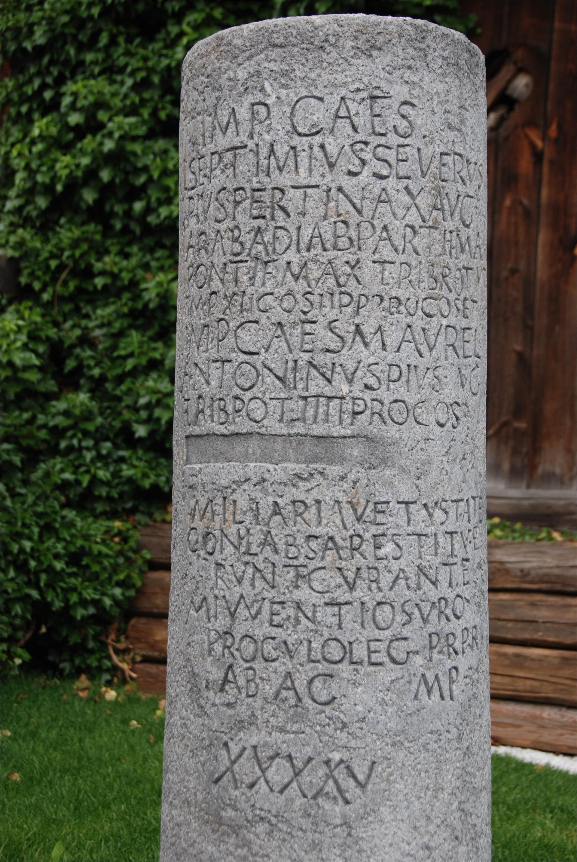 Military stone of the romans
