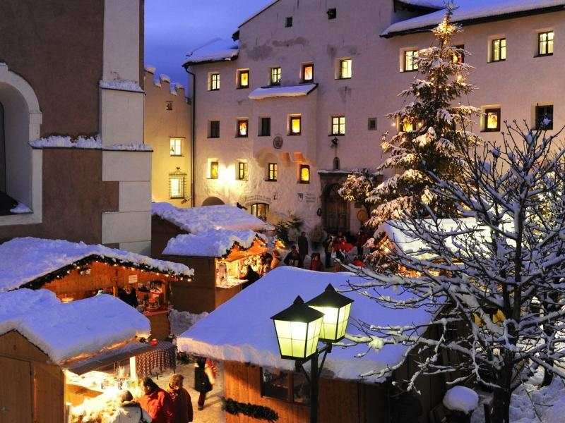 Christmas in the mountains in Castelrotto