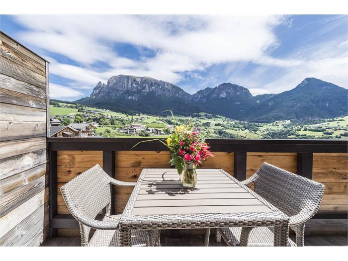Balcone con vista montagna
