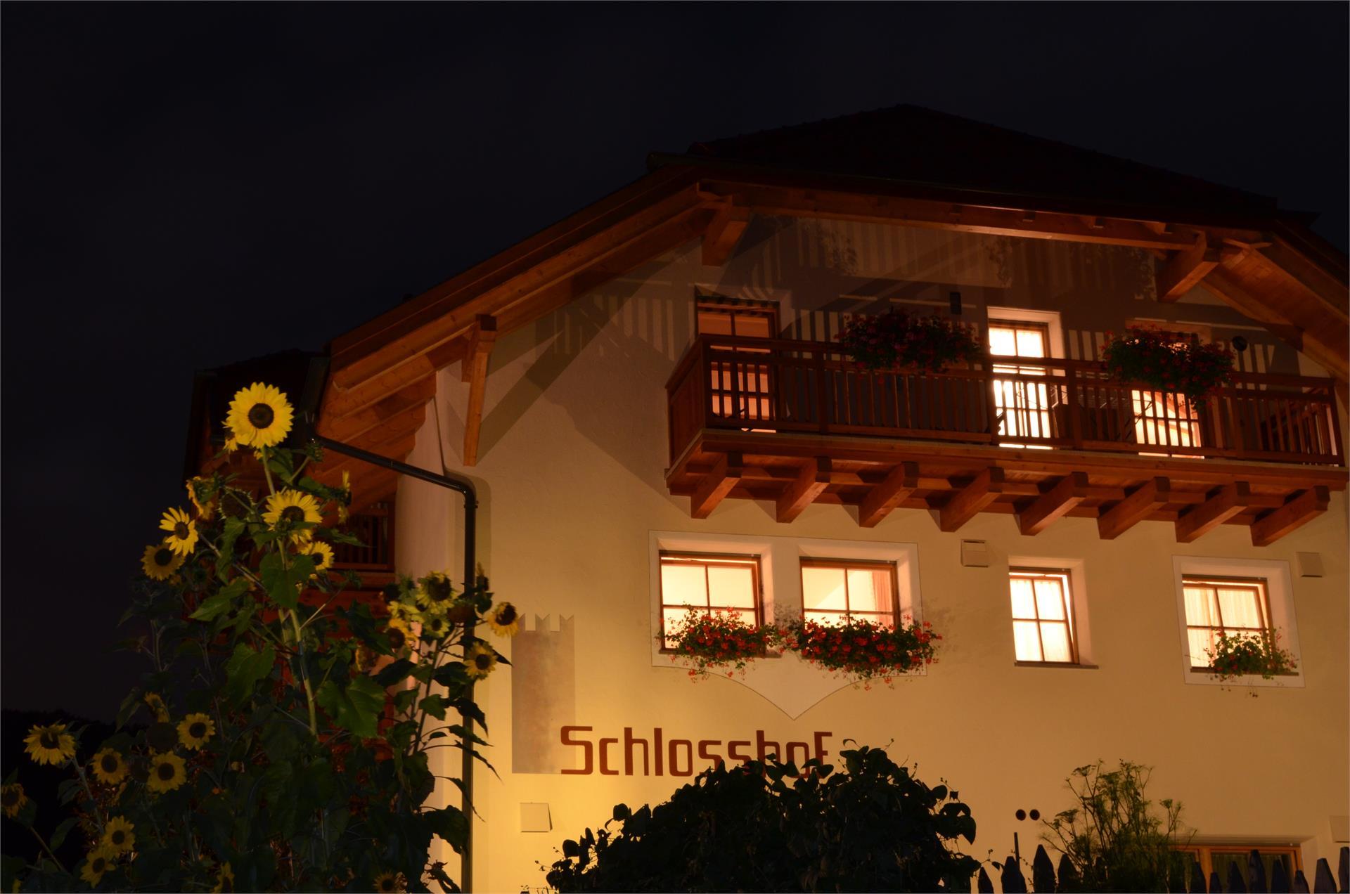 Schlosshof Nacht