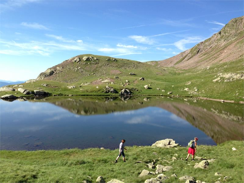 Monte Luco mountain lake