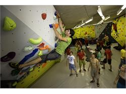 The Salewa Cube indoor climbing gym