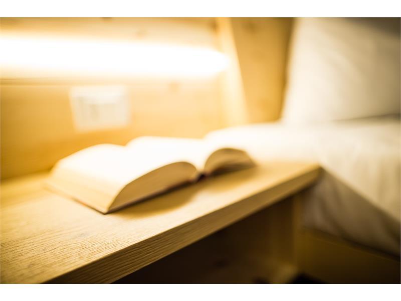 Leseecke in den Zimmern