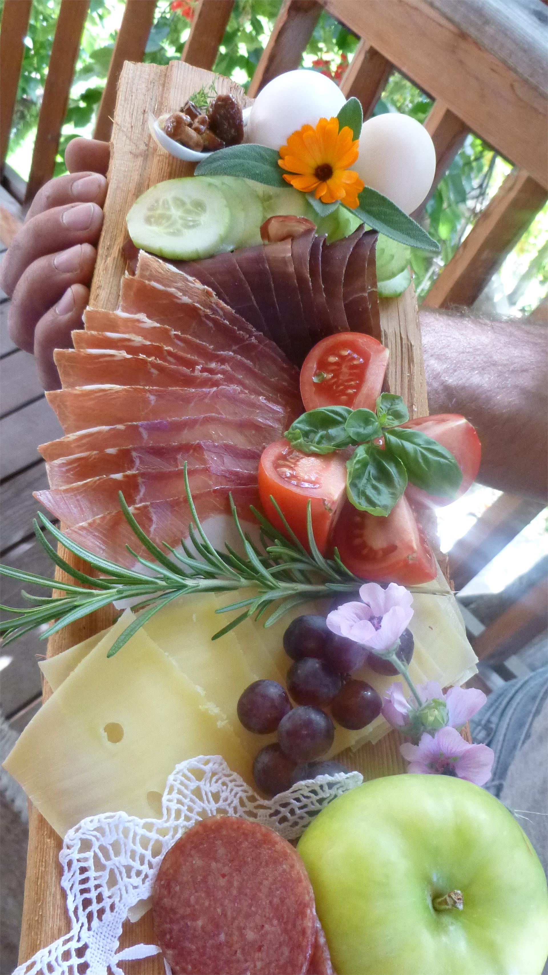 Bachguthof Frühstück