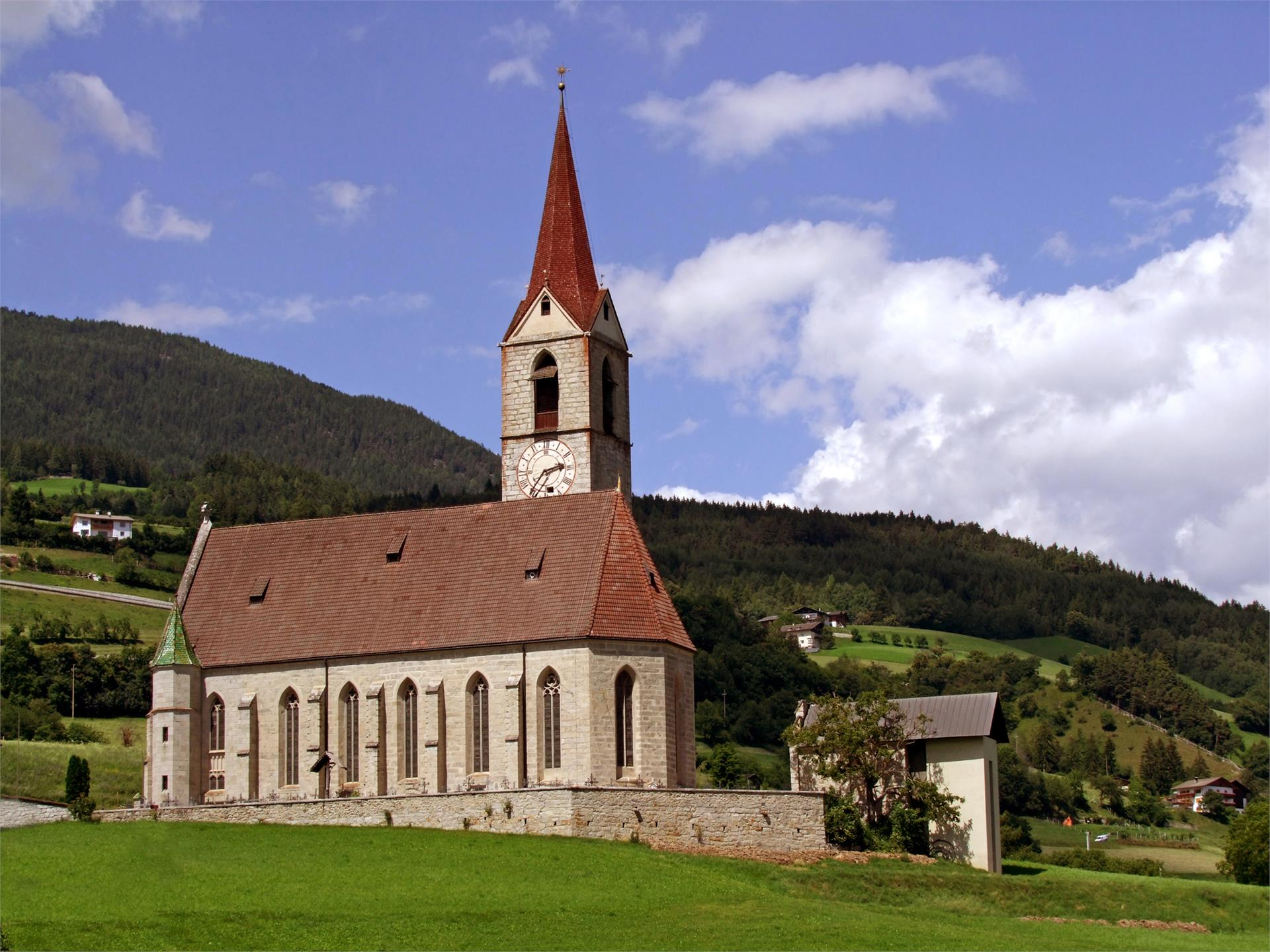"Parish Church ""zu Maria Himmelfahrt"" Velturno/Feldthurns"