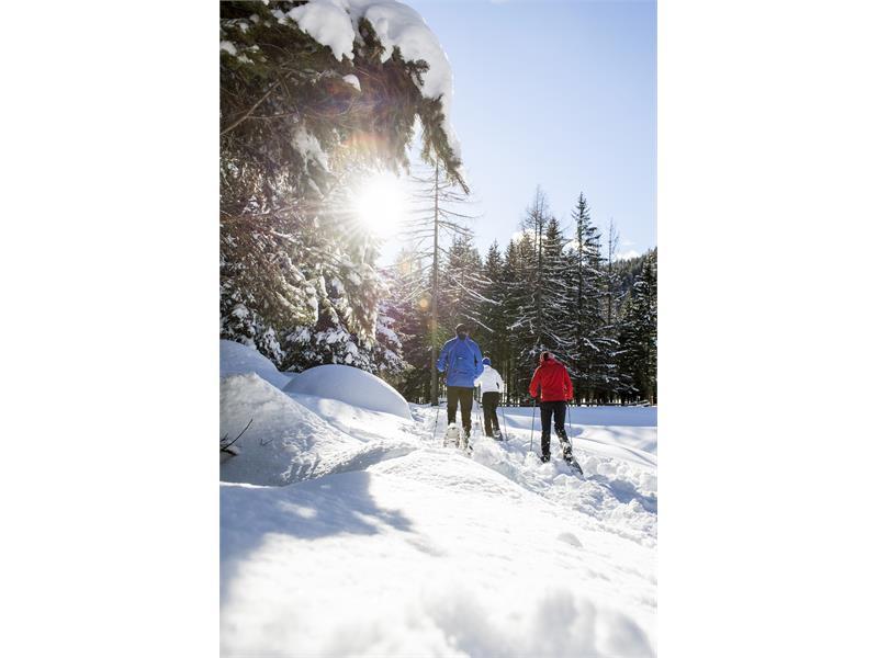 Escursione con le racchette da neve nel Partimonio Mondiale Unesco