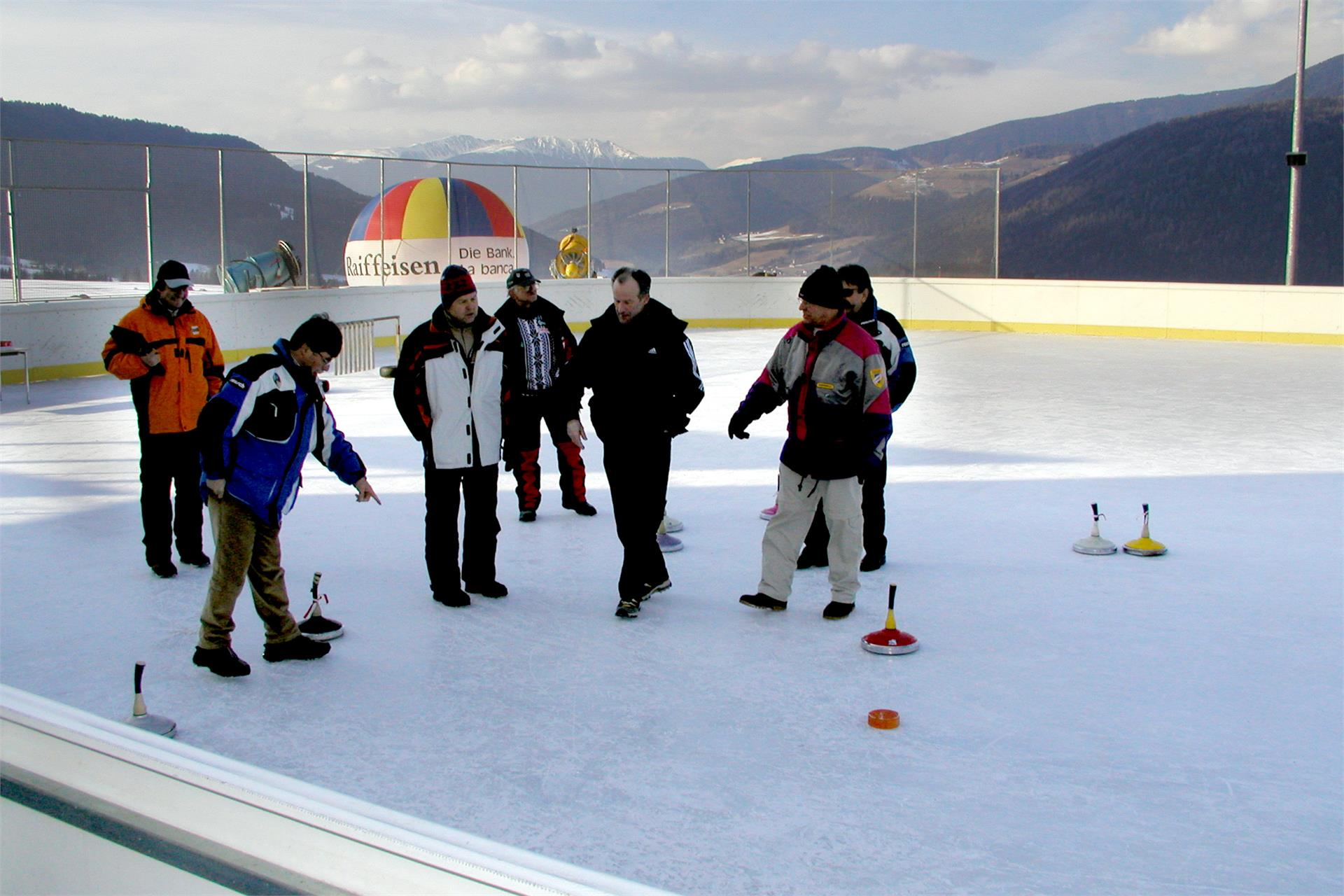 Ice rink Valdaora di Sopra/Oberolang