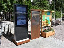 E-Bike Ladestation Dorfzentrum