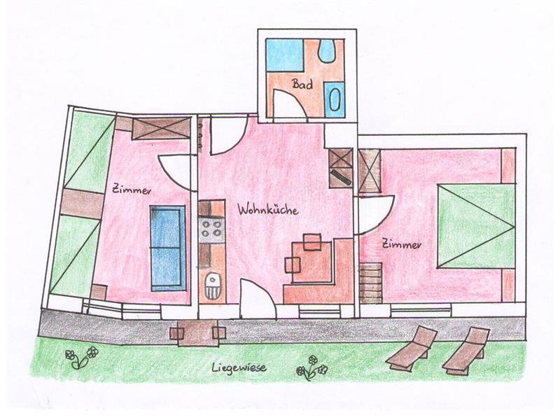 appartamento 2 - pianta