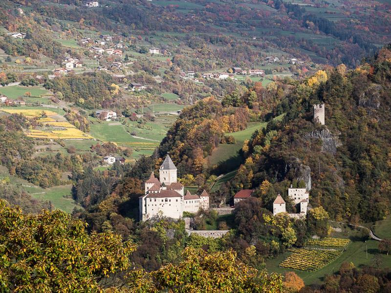 Trostburg Castle in Ponte Gardena/Waidbruck