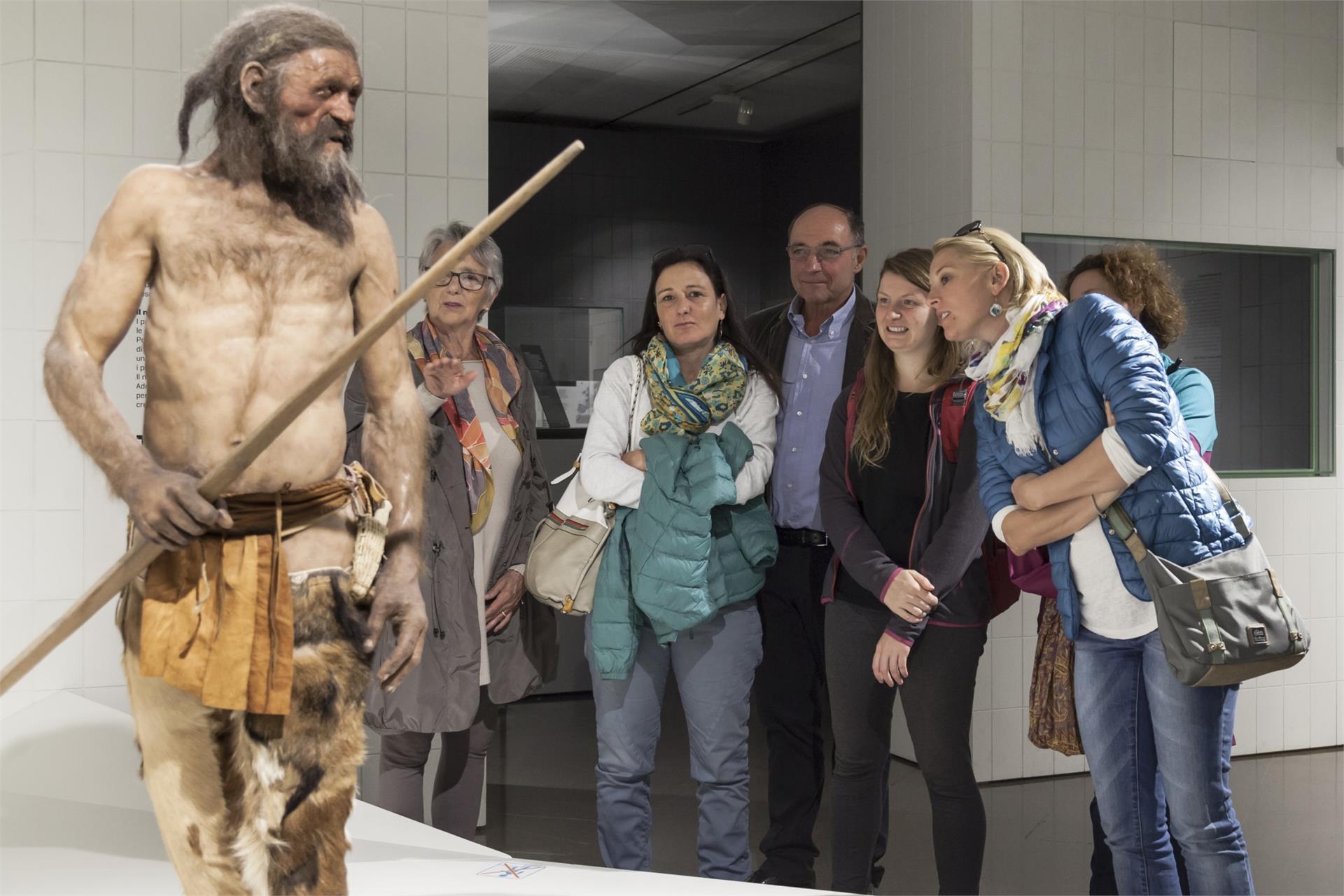 Südtiroler Archäologiemuseum - Ötzi