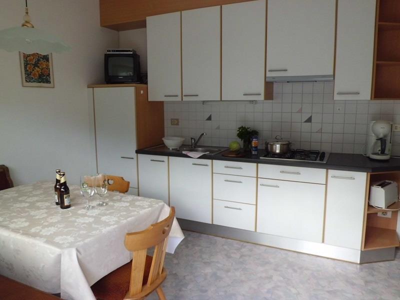 Wohnküche im Appartement Edelweiß