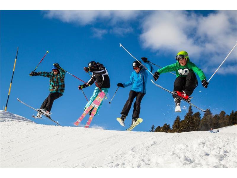 Skifahrer Rittnerhorn