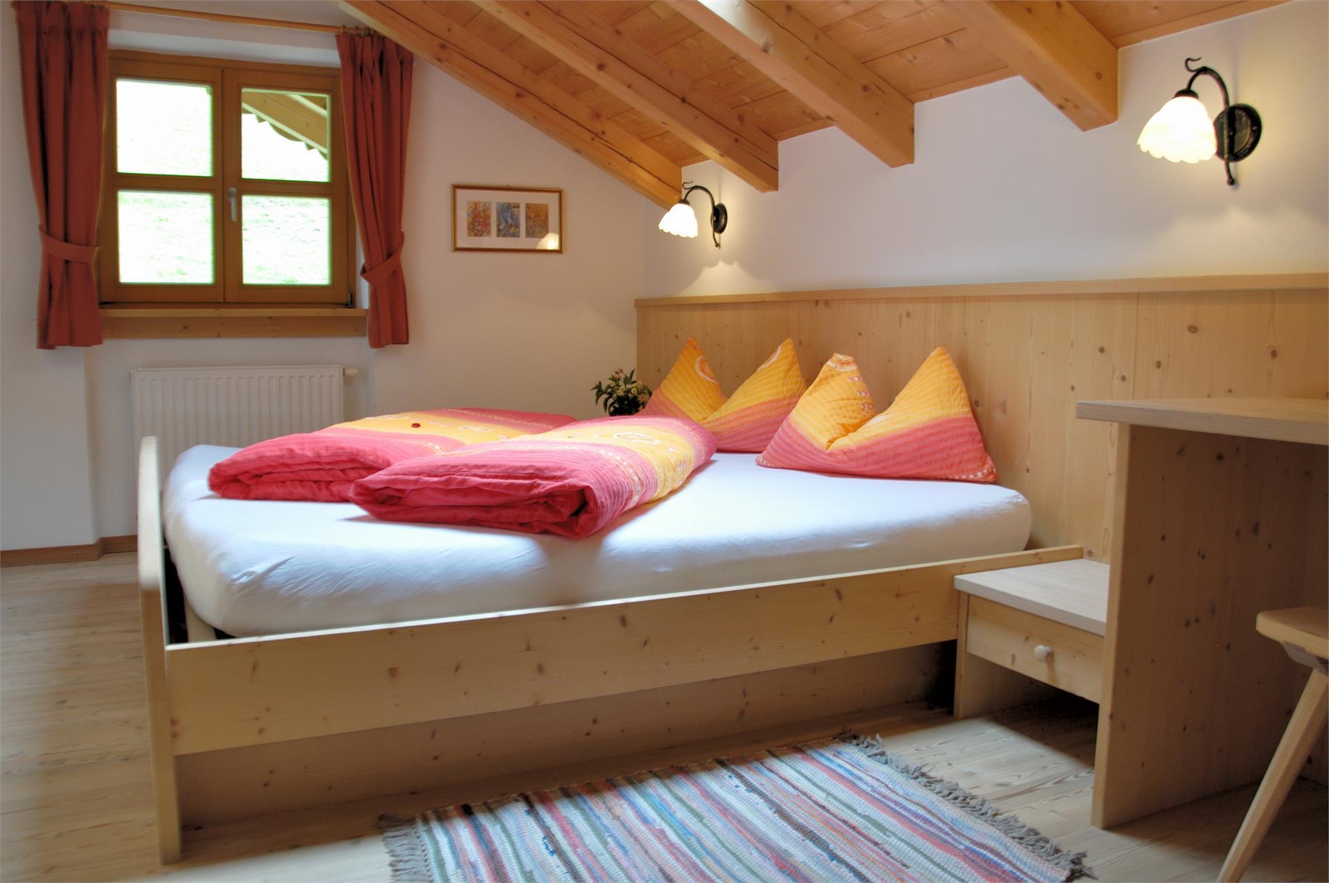 Schlafzimmer Appartement Alpenrose