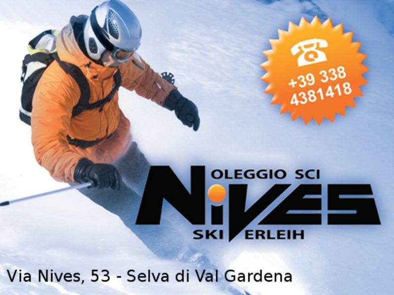 Noleggio sci Nives