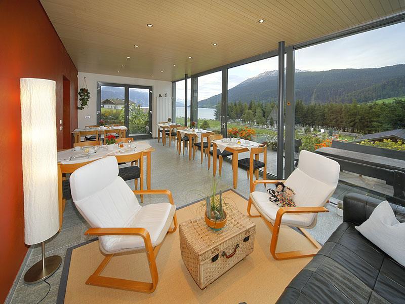 Lounge in the winter garden