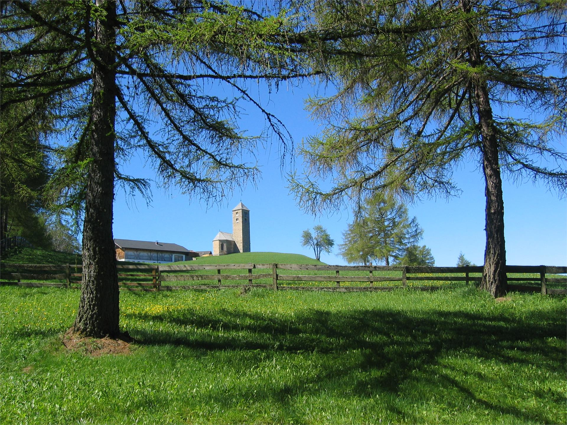 Parcheggio Avelengo - malga Leadner Alm - San Giacomo (Lavenna)