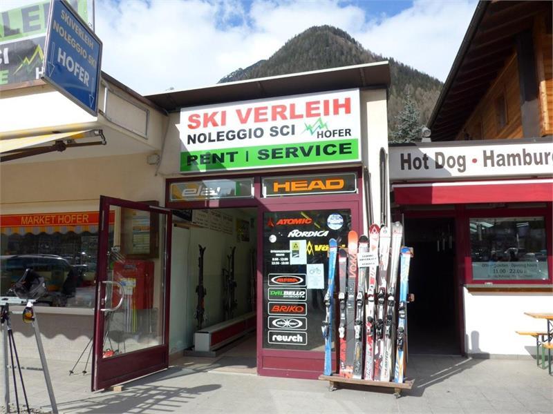 Hofer ski rental and service