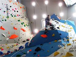 Indoor climbing point Sarntal Valley