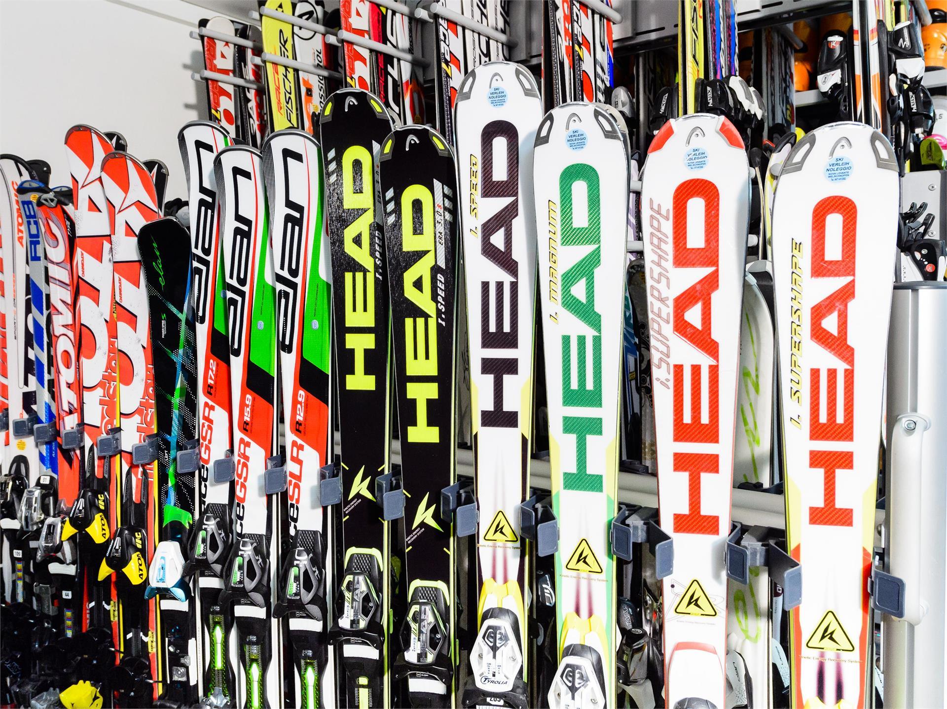 Ski and Bike Rent Service Nova Levante