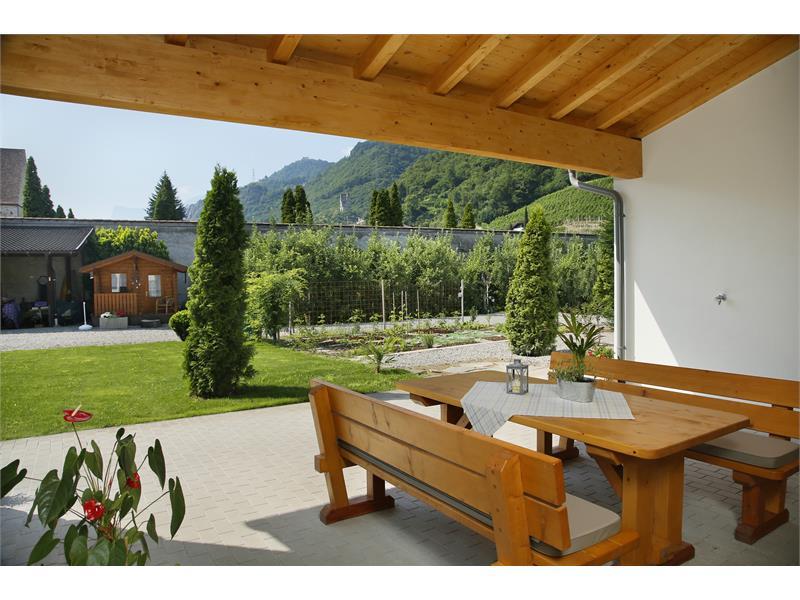 Haus Rosenegg terrazza
