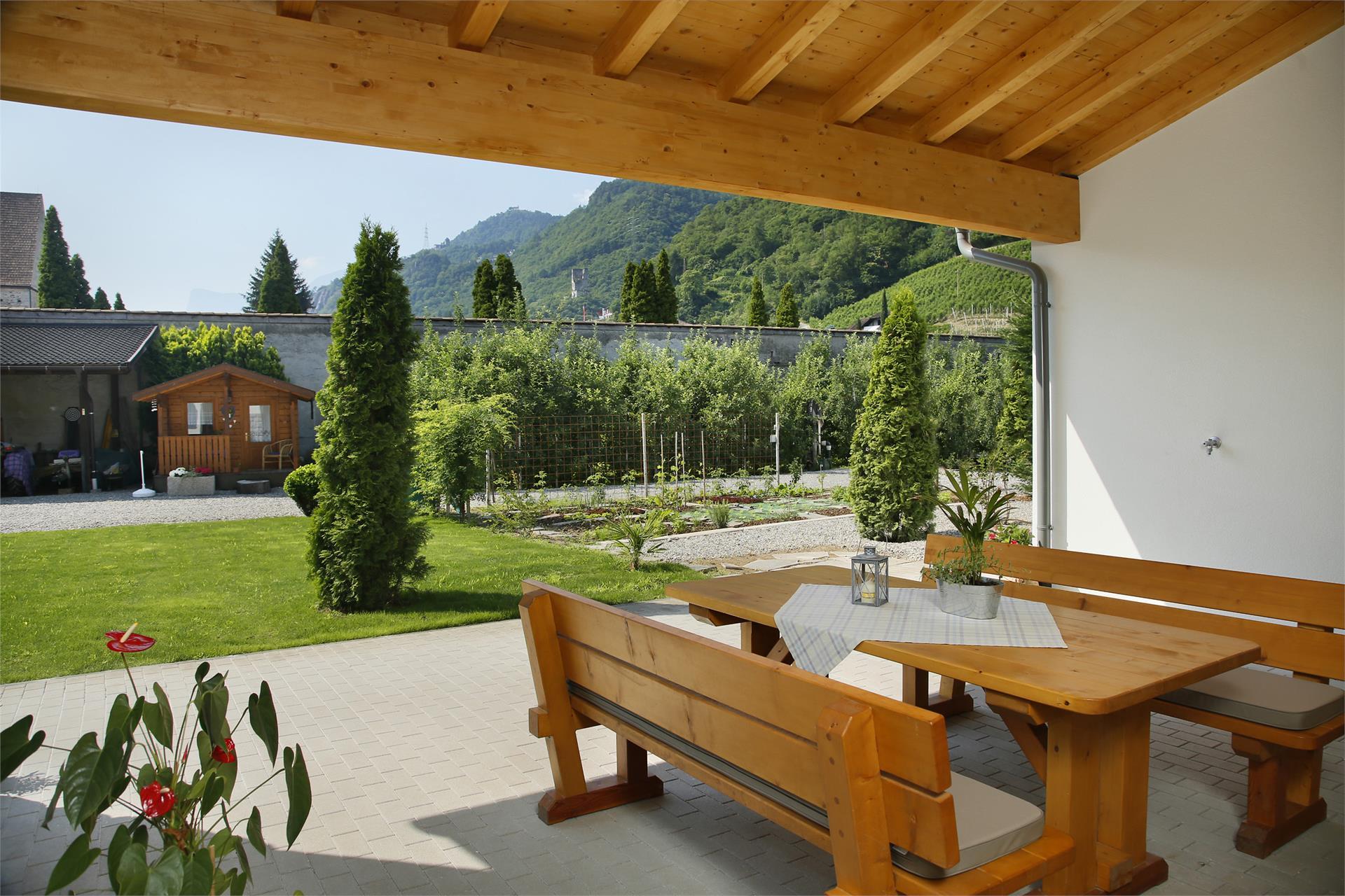 Haus Rosenegg terrace