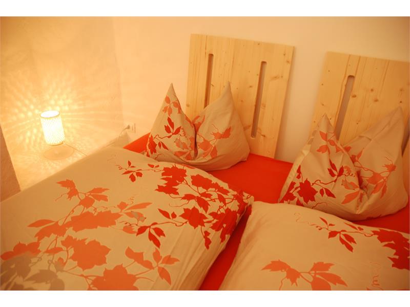 Apartment Goldblick, Schlafbereich