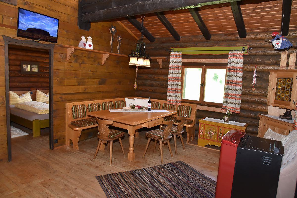 Berghütte Ahrntal_cucina abitabile