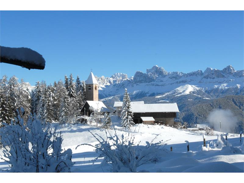 Church of St. Helena winter