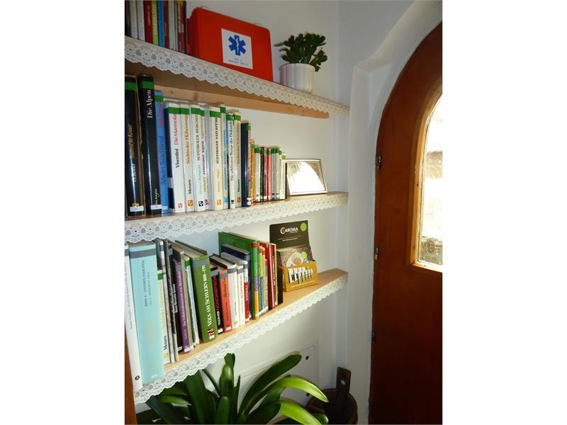 biblioteca della casa- casa Albert Haselrieder, Fié allo Sciliar