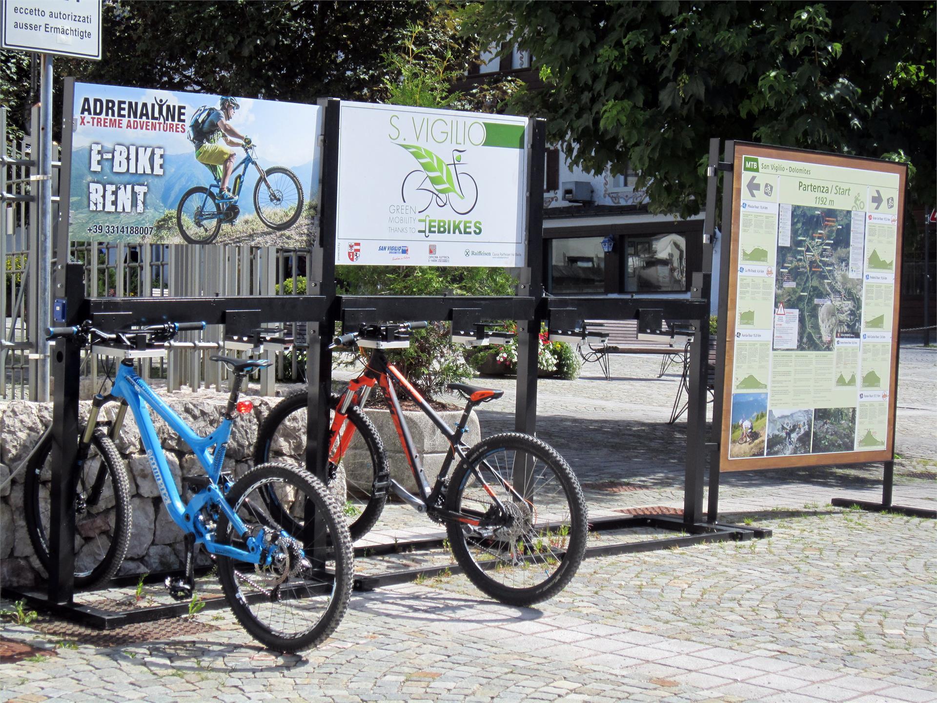 E-bike carge Cetre San Vigilio