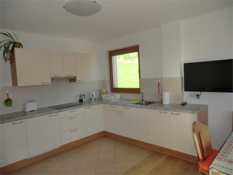 Küche in der Wohnung Talblick