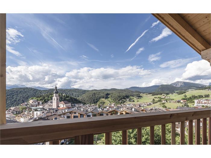 Balkonblick auf Kastelruth