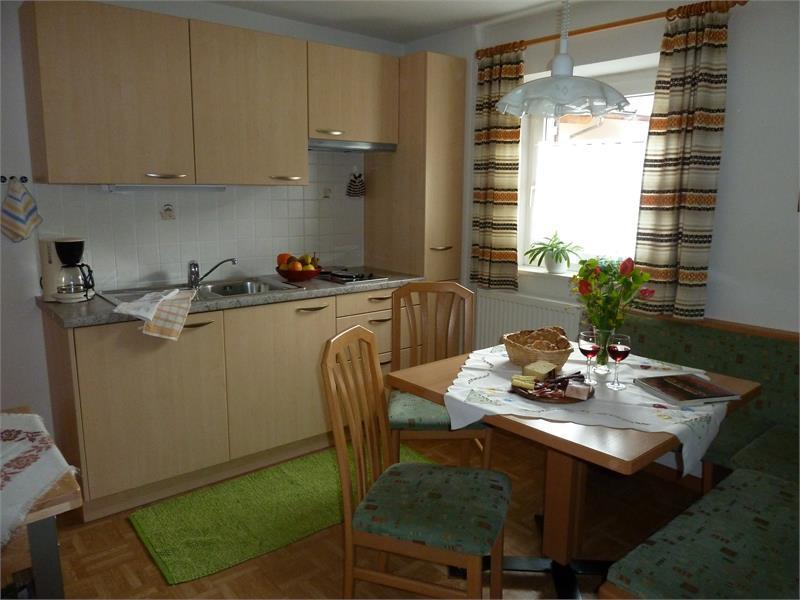 cucina appartamento Barbara- casa Albert Haselrieder, Fié allo Sciliar