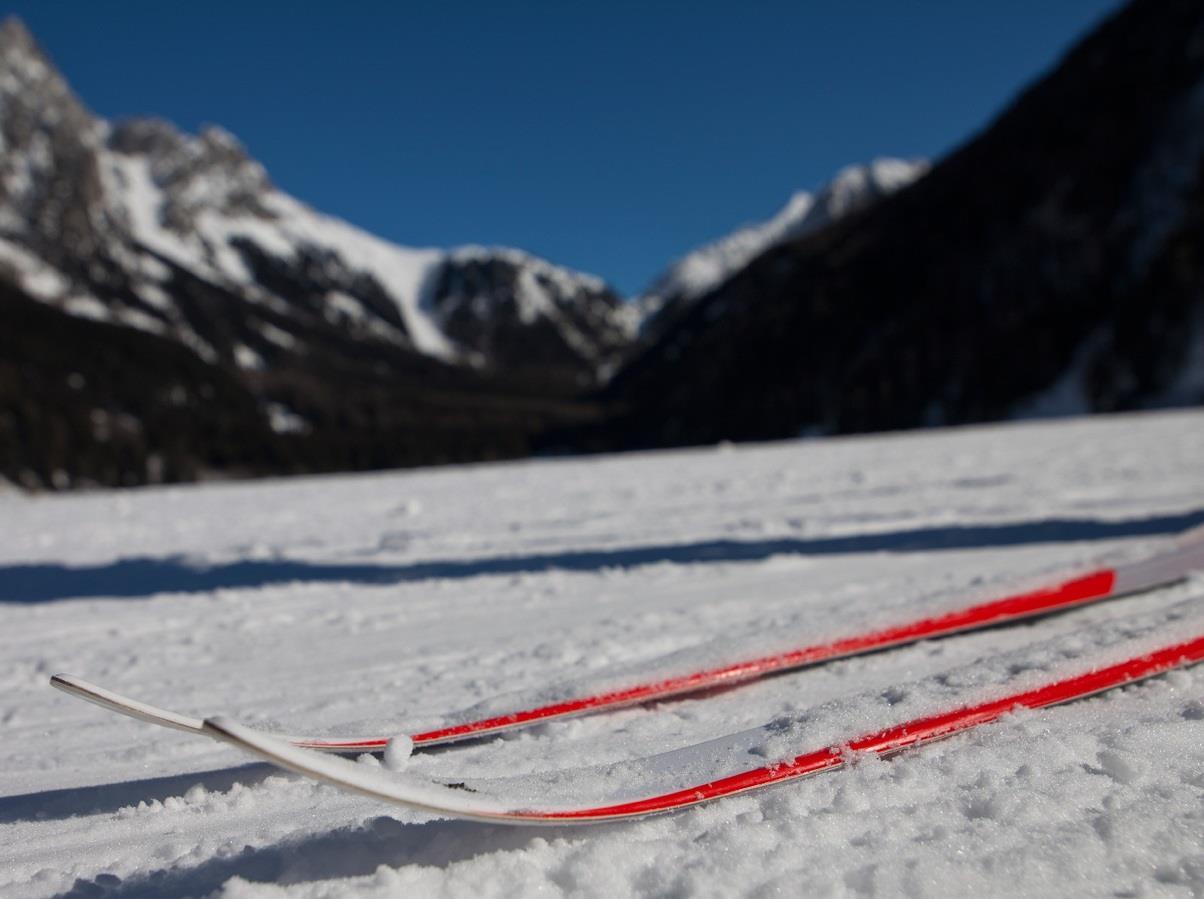 pista sci fondo valle Anterselva di Mezzo - centro Biathlon