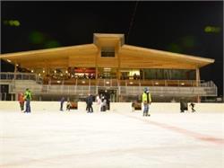 Ice skating stadium