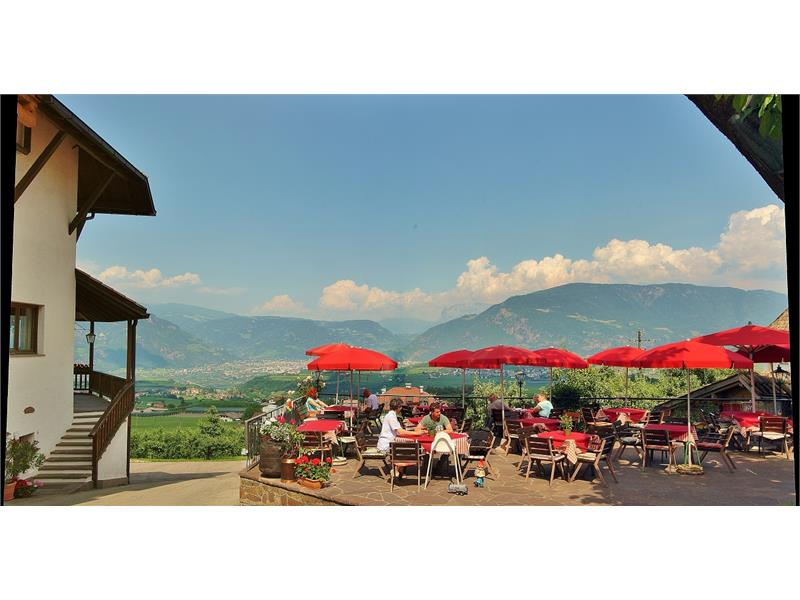 Restaurant panoramic terrace