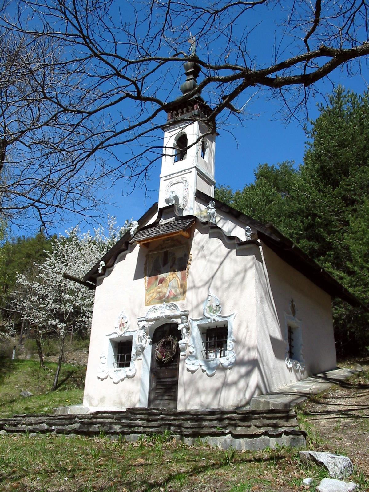 """Die Wallfahrtskirche """"Urlaubstöckl"""""""