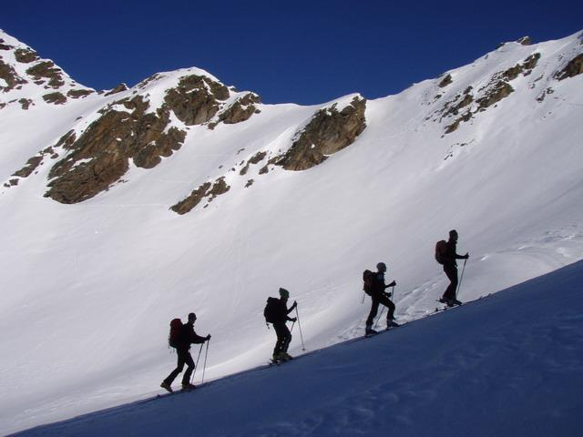 Skitour with the alpine guides