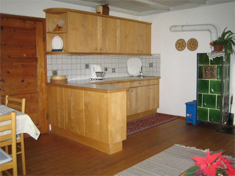 Cucina nell'appartamento