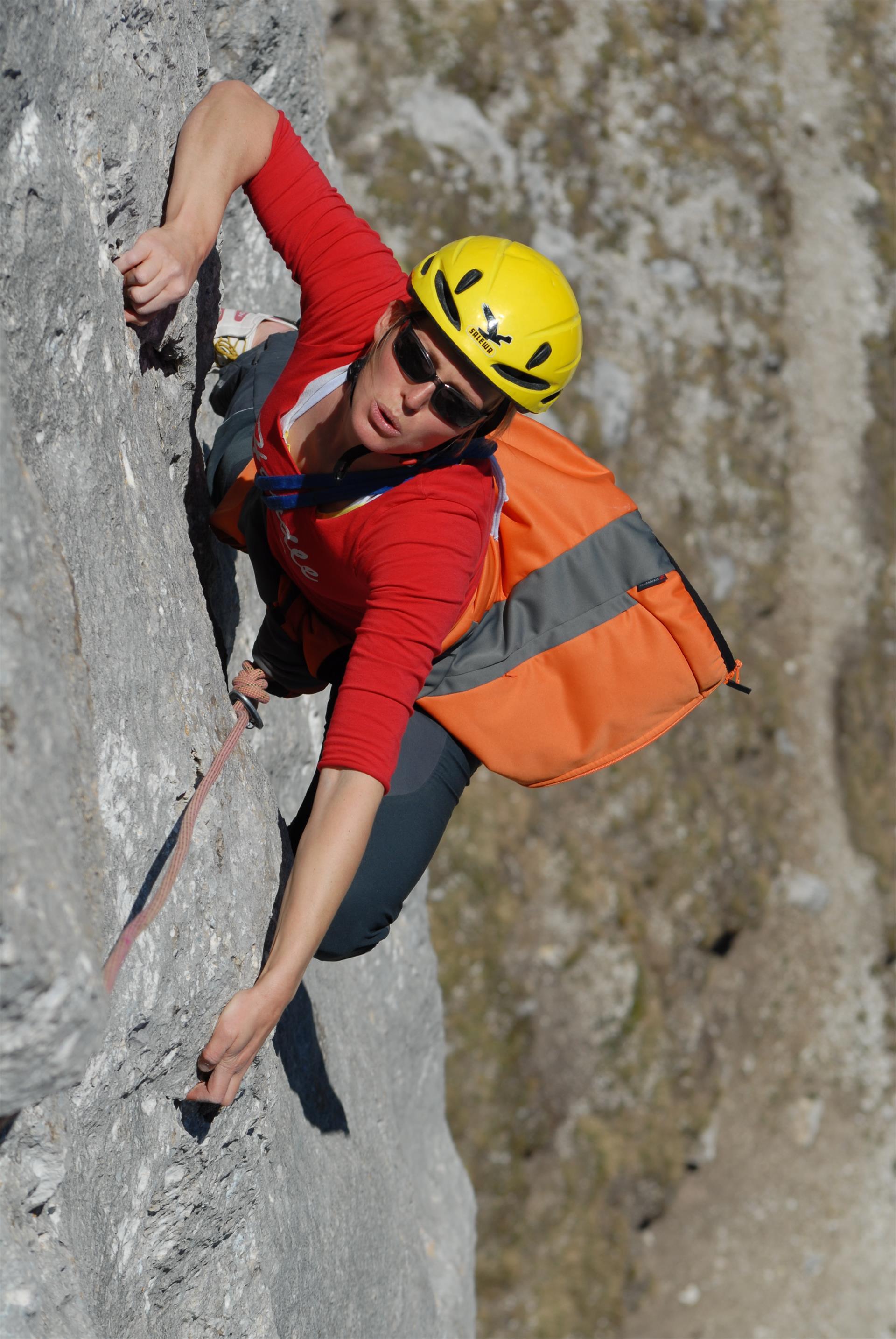 Climbing crag Franchi