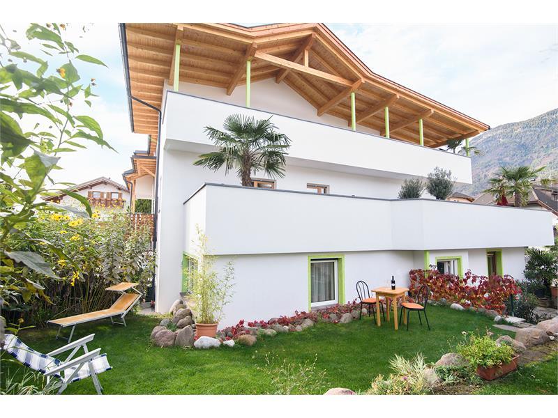 Gartenappartement Palme