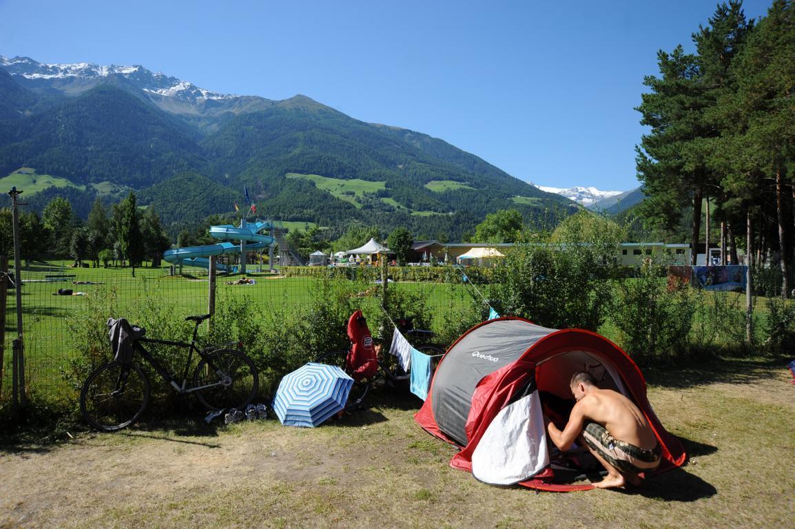 Piazzole per tende nel campeggio Kiefernhain