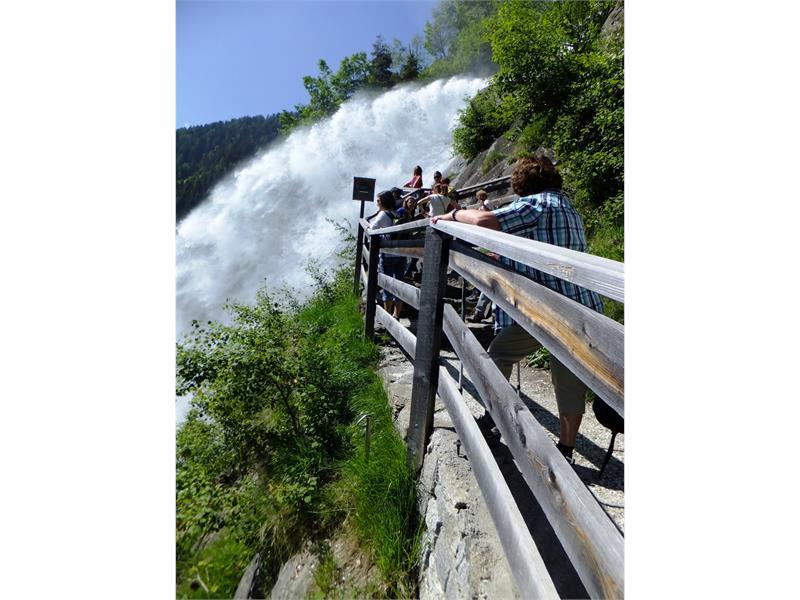 Partschinser Wasserfall ab Talstation Texelbahn