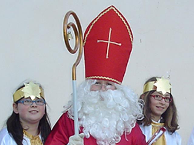 Nikolausumzug in Schluderns