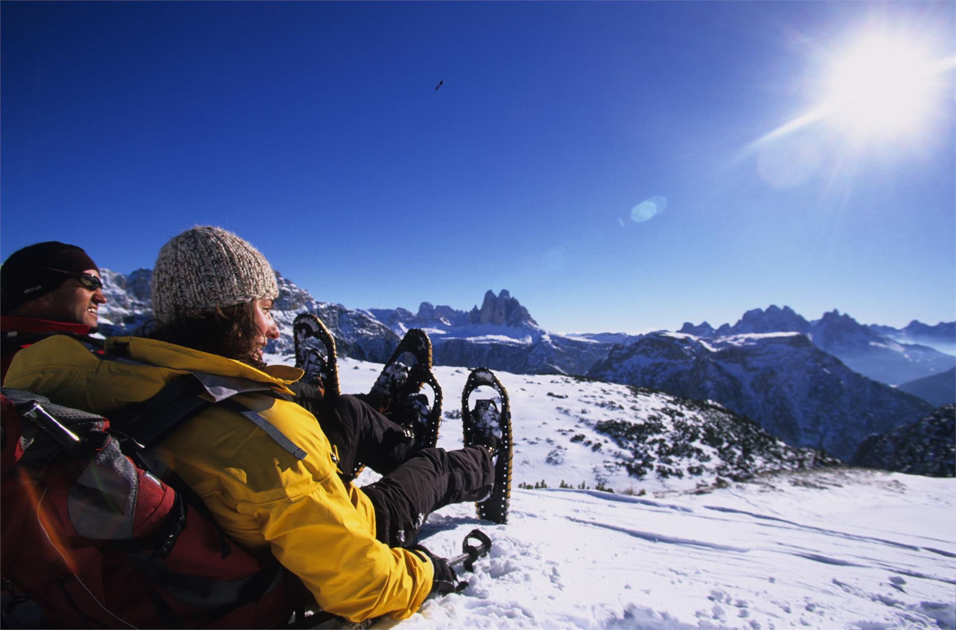 Schneeschuhwanderung - Pragser Wildsee - Kaserhütte