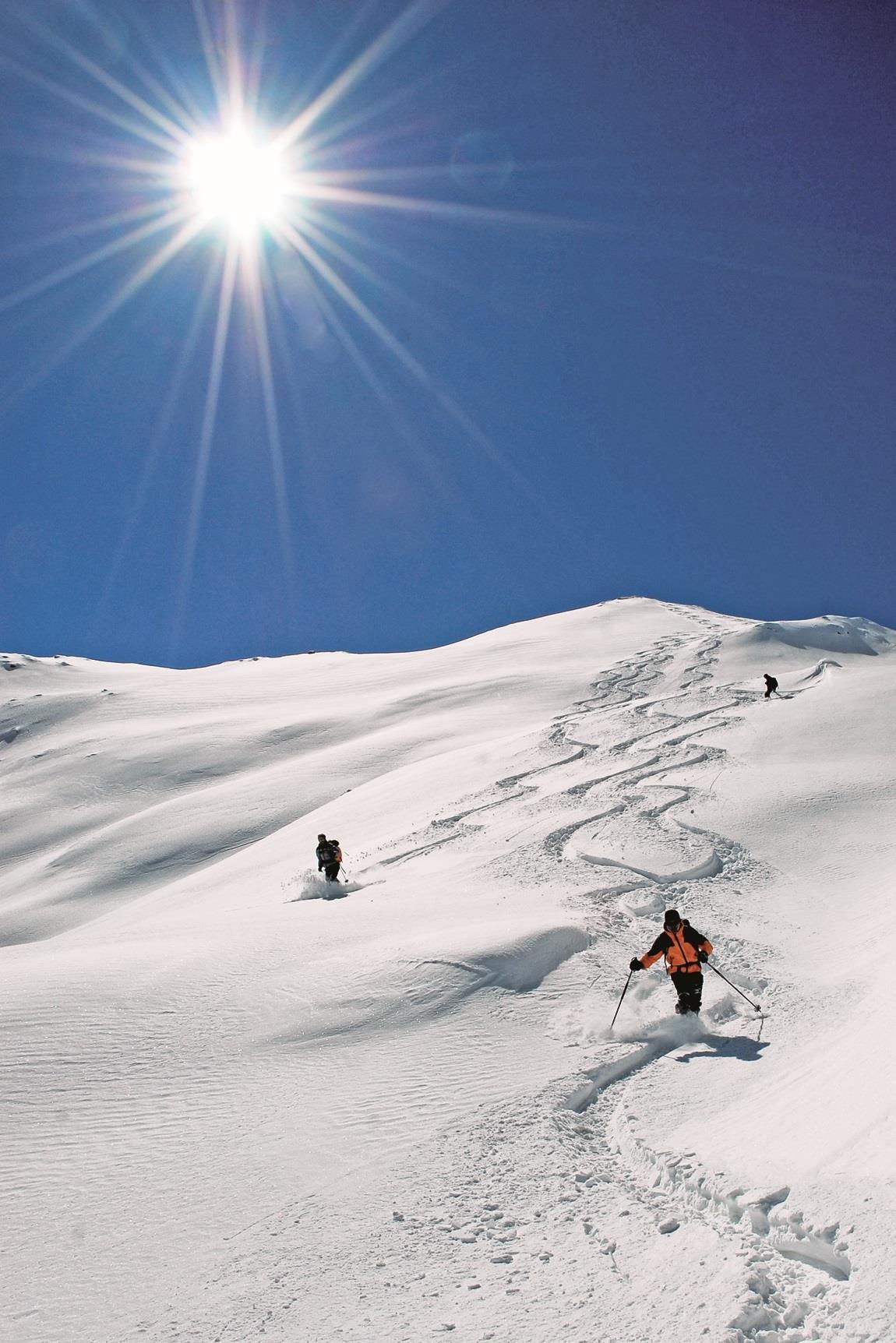 Ski Tour  auf den Mutenock